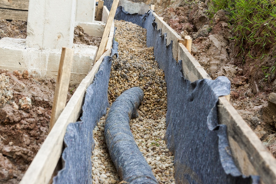 French Drain Frankfort